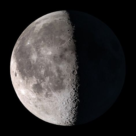 Fases de la Luna hoy 17 de Enero de 2020 🌗Cuarto Menguante